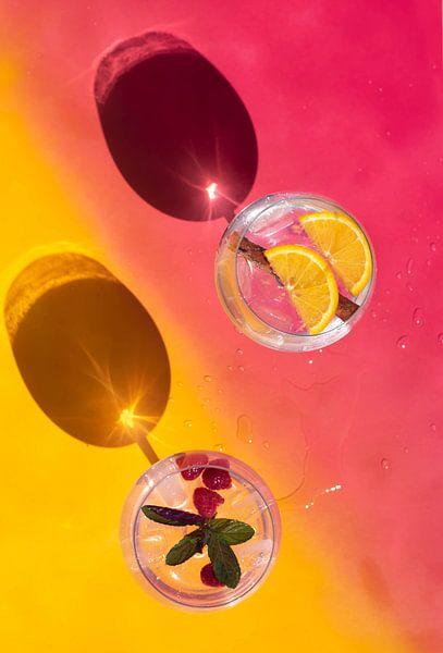 Vrolijke gin tonics van Amber de Jongh