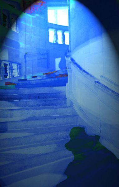 Phantom in blue light van Artelier Gerdah