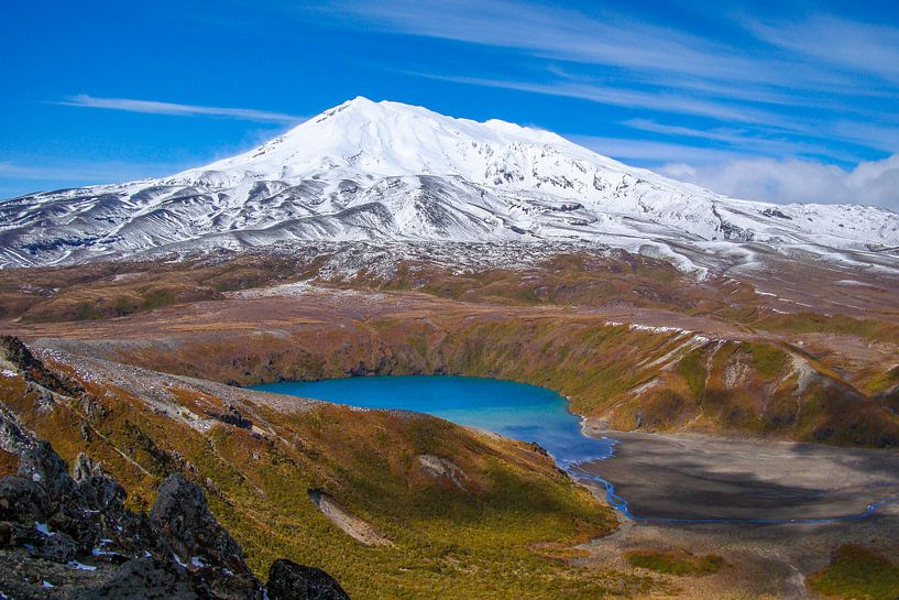 Lower Tama lake van Leendert van Bergeijk