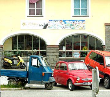 Italiaanse auto`s en scooter  von Joke te Grotenhuis