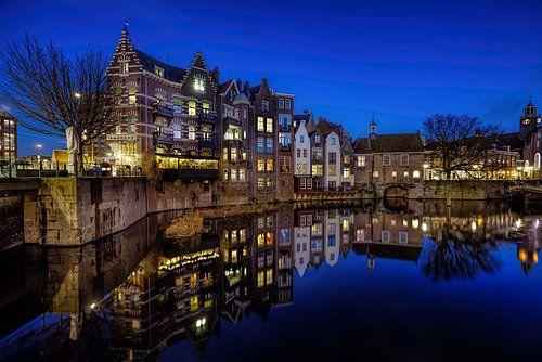 Historisch Delfshaven in Rotterdam van