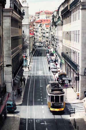 Straten in Lissabon