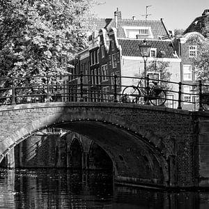 Brug Reguliergracht Amsterdam von