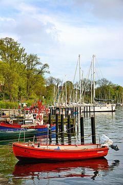 In de zeilhaven van Neustadt in Holstein van Gisela Scheffbuch