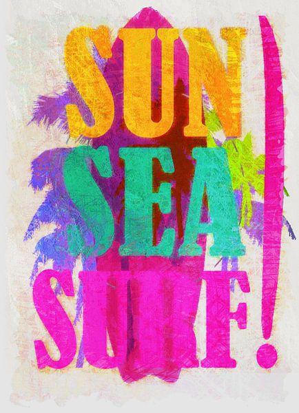 Sun Sea Surf van Joost Hogervorst