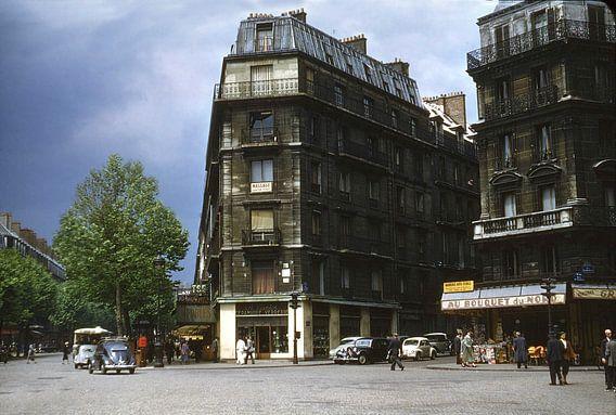 Vintage foto 1950 Parijs van Jaap Ros