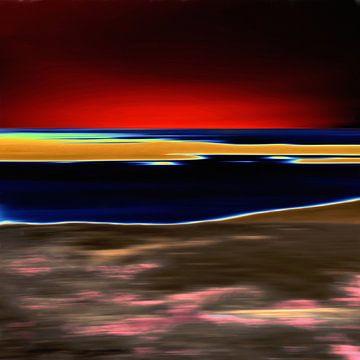 Solarisation XXIV sur Maurice Dawson