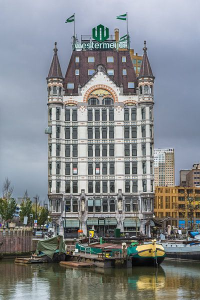 Het Witte Huis te Rotterdam van Arthur Wolff