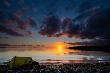 Sonnenaufgang auf der Grevelingen von Twan Aarts