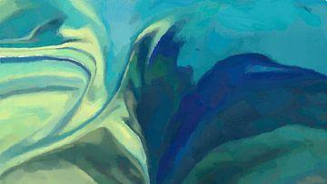 Zusammenfassung - Flucht vor den Wellen von Schildersatelier van der Ven