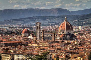 Florence stadsgezicht von Dennis van de Water