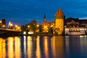 Avondsfeer in Konstanz van Daniela Tchinitchian