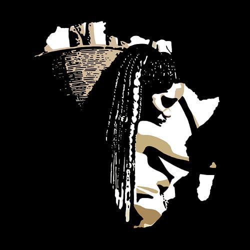 Afrika van Irene Jonker