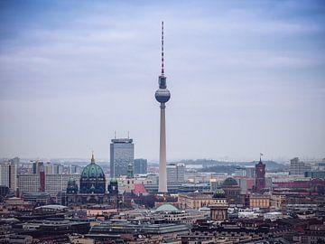 Berlin Skyline / Fernsehturm von Alexander Voss