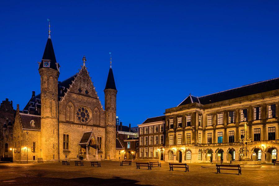 De Ridderzaal aan het Haagse Binnenhof