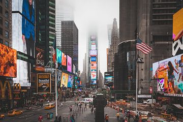 Times Square New York van