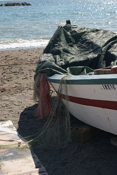 Vissersboot in Andalusië (Spanje)  van