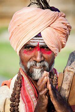 Indischer Sadhu von Dennis Claessens