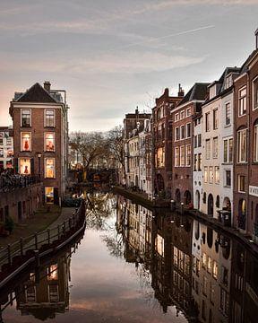 Nacht fotografie in Utrecht van Kim de Been