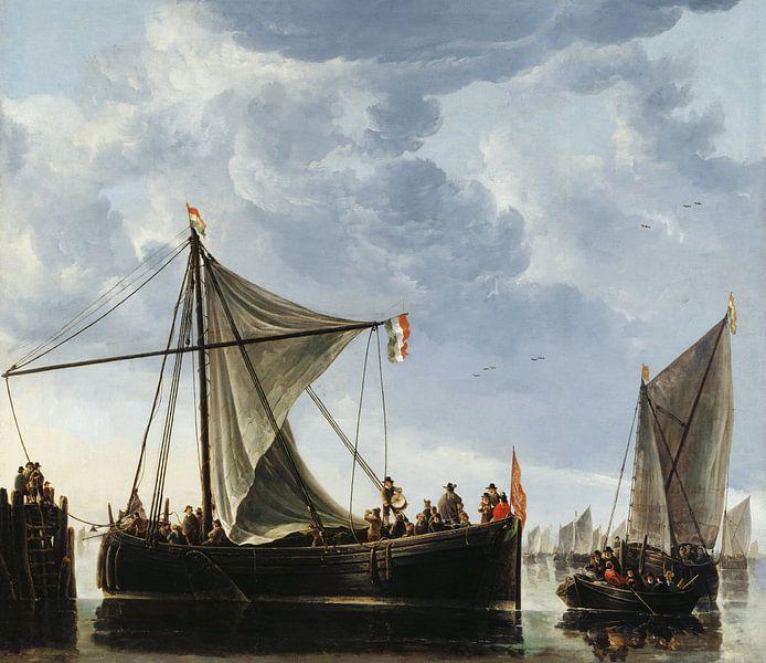 Albert Cuyp. De veerpont van 1000 Schilderijen