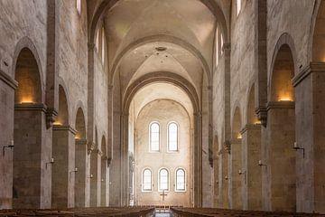 Romanik pur - Abteikirche des Zisterzienserkloster Eberbach van Christian Müringer