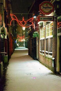 Historische Gasse in Utrecht von Jan van der Knaap
