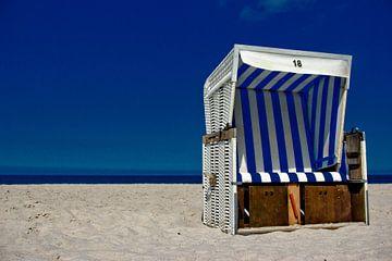 Strandkorb Nummer 18 von Norbert Sülzner