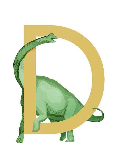 D - Dino von Goed Blauw