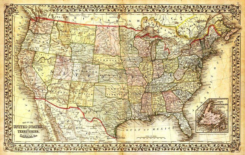 Antike Weltkarte von World Maps
