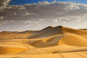 Wahibi Sands woestijn in Oman van