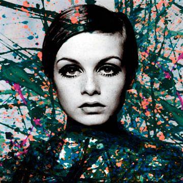 Motiv Miss Twiggy - Dark Green - Extreme Splash