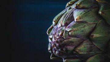Close-up van een Artisjok van ElkeS Fotografie