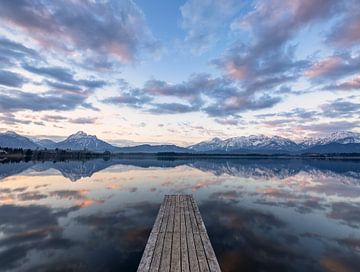 Sonnenaufgang im Allgäu von Achim Thomae