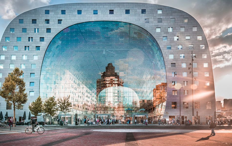 Markthal Rotterdam van Niels Hemmeryckx