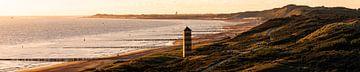 Walcheren kustlijn Panorama van Thom Brouwer