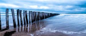 Cadzand - Stormy Beach