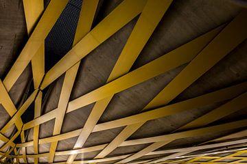 Royal Welsh spoorbrug, 's-Hertogenbosch, Nederland van Marcel Bakker