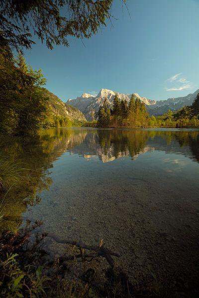 alp lake van Silvio Schoisswohl