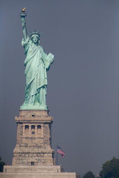 Vrijheidsbeeld New York Liberty Island van Jean-Paul Wagemakers