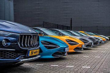 Sportwagen-Aufstellung in Utrecht von Bas Fransen
