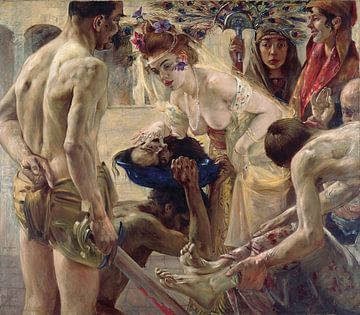 Lovis Korinth, Salome II, 1900 von Atelier Liesjes