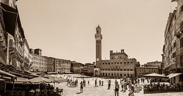 Piazza del Campo von Teun Ruijters