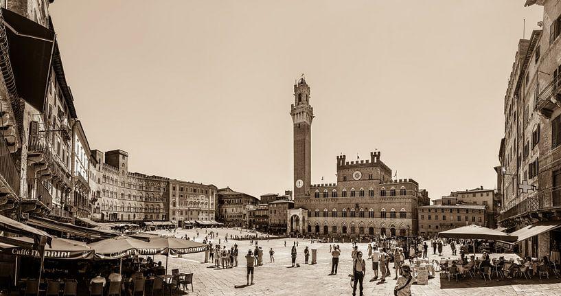 Piazza del Campo van Teun Ruijters