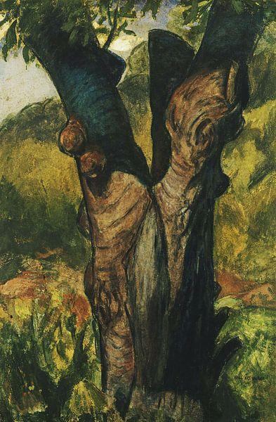 Alfred Henry Maurer - Der alte Baum von finemasterpiece