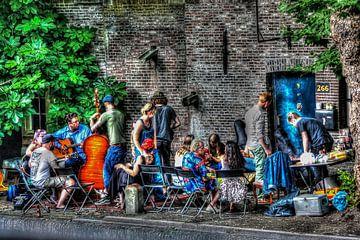 Grachten leven, Utrecht von Maarten Kost