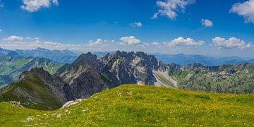 Nebelhorn, Allgäu Alps van Walter G. Allgöwer