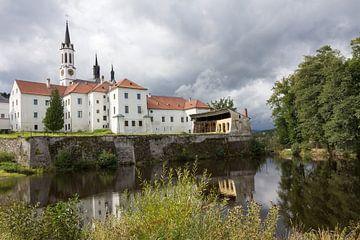 Klooster in de plaats Vissy Brod Tsjechië. van Rijk van de Kaa