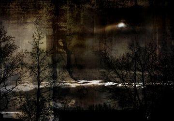spooky (no title) van JF art