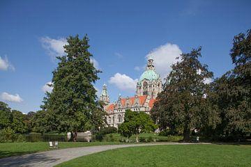 Neues Rathaus im Maschpark, Hannover, Niedersachsen, Deutschland von Torsten Krüger