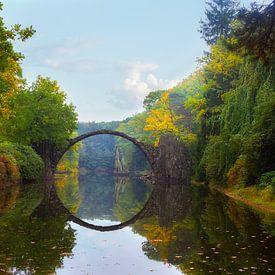 Rakotzbrücke von Truus Nijland